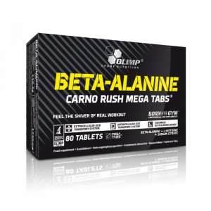 OLIMP Beta-Alanine Carno Rush Mega Tabs (80 tabletek)