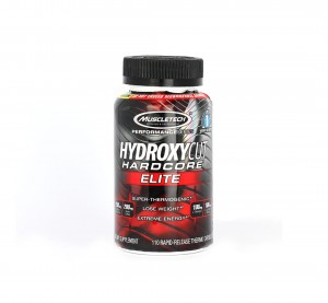 MUSCLE-TECH Hydroxycut Hardcore Elite - 110 kaps.